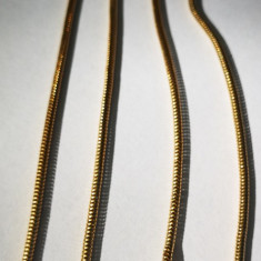 12.Lantisor aur lungime 445 mm, 8, 1 grame 18 carate cu diamant rotund 6 mm, Carataj aur: 18k, Culoare Aur: Galben, Femei