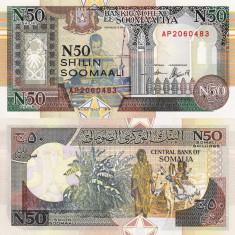 SOMALIA 50 shillings 1991 UNC!!! - bancnota africa