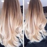 Extensii ombre saten-blond 100% par natural gradul 8A (AAAAAAAA) - Extensii par