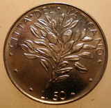 2.648 VATICAN PAPA PAUL VI 50 LIRE 1974 XF/AUNC, Europa