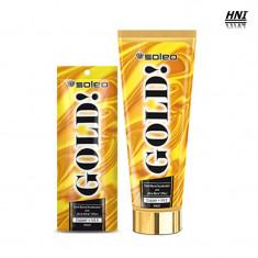 Crema pentru solar GOLD Soleo 15ml - Crema autobronzanta