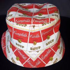Palarie vintage Campbell's Soup, marime universala adult - Haine vintage