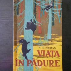 M. A. IONESCU - VIATA IN PADURE  {1962}