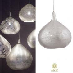 Corp iluminat argintat Princess Filisky Small - Corp de iluminat