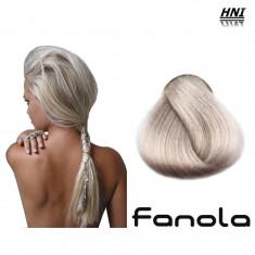 Vopsea de par blond foarte platinat cenusiu extra 12.1 Fanola
