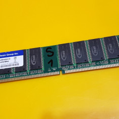 1GB DDR1 Desktop, 1x1GB, Brand Team Group, PC-3200, 400Mhz(1S) - Memorie RAM