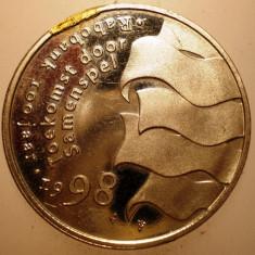2.695 OLANDA MEDALIE BEATRIX JULIANA WILHELMINA 1998 22mm, Europa