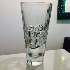 Trofeu cristal TRIANA vaza conica - Vaza si suport flori