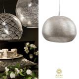 Corp iluminat argintat Loaf Filisky Large, Pendule