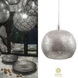 Corp iluminat argintat Loaf Fan Large, Pendule