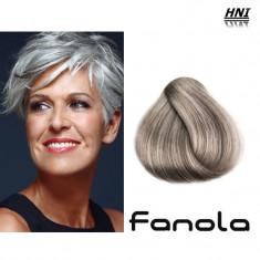 Vopsea de par blond cenusiu super deschis 9.11 Fanola