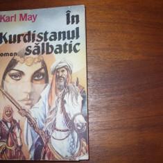 KARL MAY - IN KURDISTANUL SALBATIC * - Carte de aventura