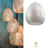 Corp iluminat argintat Tahrir Filisky Large, Pendule