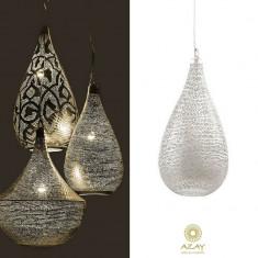 Corp iluminat argintat Elegance Filisky Super - Corp de iluminat