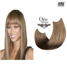 Vopsea de par blond cenusiu foarte deschis Oro Therapy fara amoniac 9.1