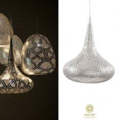 Corp iluminat argintat Sufi Filigros Small - Corp de iluminat