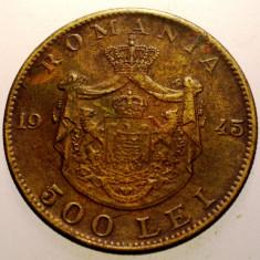 2.599 ROMANIA MIHAI I 500 LEI 1945 - Moneda Romania, Alama