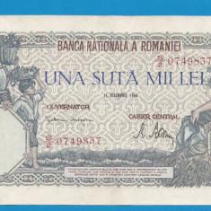 100000 lei 1946 21 Octombrie 21 - Bancnota romaneasca
