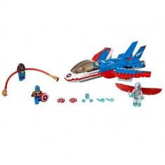 Capitanul America si urmarirea avionului cu reactie LEGO (76076) Marvel Super Heroes - LEGO Marvel Super Heroes