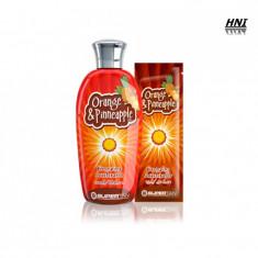 Crema pentru solar cu aroma de PORTOCALA & ANANAS 200ml - Crema autobronzanta