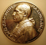 5.613 ITALIA VATICAN MEDALIE PAPA PIUS XII 1941 AN III ARGINT 38,2g MISTRUZZI, Europa