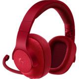 Casti Gaming Logitech G433 Surround 7.1 Red