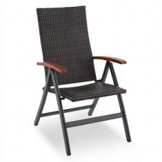 Blumfeldt Corsica, scaun pliant cu cotiere, 58, 5 X 103 X 75 CM - Scaun gradina