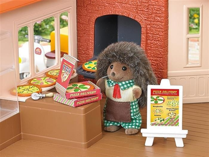 Jucarie Sylvanian Families Pizza Delivery Set foto mare