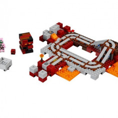 Calea Ferata Nether LEGO Minecraft (21130)