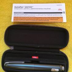 Pen insulina Humapen Savvio - Glucometru