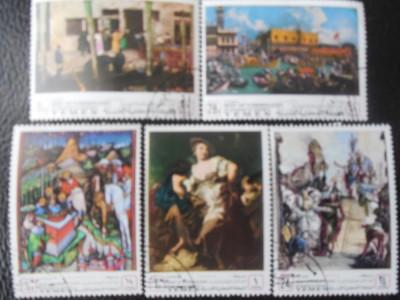 YEMEN KINGDOM-PICTURI MUZEE  VENETIA-STAMPILATE foto