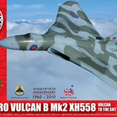 Kit Constructie Airfix Avion Avro Vulcan B Mk2 Xh558 Scara 1:72 - Set de constructie