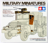 + Kit 1/35 Tamiya 35231  - US 2.5 Ton 6x6 Cargo Truck Accessory Set +