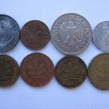 Germania lot (2) - 8 monede moderne, Europa