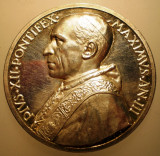 5.611 ITALIA VATICAN MEDALIE PAPA PIUS XII 1941 AN III ARGINT 37,3g MISTRUZZI, Europa
