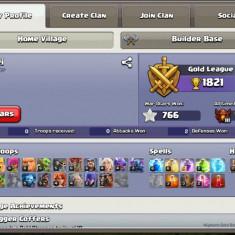 Vand cont clash of clans th9 - Jocuri PC Altele