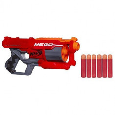 Blaster Nerf N-Strike Elite Mega Cyclone Shock - Pistol de jucarie Hasbro