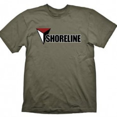 Tricou Uncharted 4 Shoreline Army Marimea L