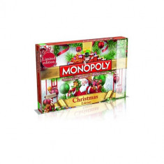 Joc Monopoly Christmas Edition Board Game - Joc board game