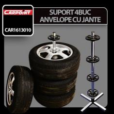 Suport pentru 4 buc roti de rezerva Carpoint - CRD-CAR0613010 Auto Lux Edition - Stativ boxe