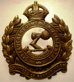 I.706 NEW ZEALAND NOUA ZEELANDA INSIGNA MILITARA 3 REGIMENT INFANTRY h44mm