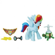 Figurina My Little Pony Gardienii Armoniei - Rainbow Dash - Figurina Povesti Hasbro