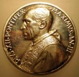 5.616 ITALIA VATICAN MEDALIE PAPA PIUS XII 1941 AN III ARGINT 38,5g MISTRUZZI, Europa