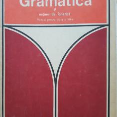 GRAMATICA SI NOTIUNI DE FONETICA MANUAL CLASA A VII-A - Tutoveanu, Popescu