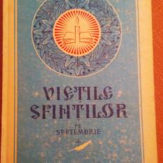 Vietile Sfintilor Pe Septembrie - P.S.Protos. Ioanichie Balan