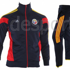Trening Nationala Romaniei - Romania - Bluza si pantaloni conici - Model NOU - - Trening barbati, Marime: S, M, L, XL, XXL, Culoare: Bleumarin, Din imagine