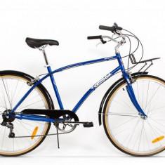 Bicicleta Pegas albastru calator-noua (inclusiv cutia) - Bicicleta de oras, 19 inch, 28 inch, Numar viteze: 7