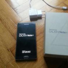 Samsung NOTE 4 SM-N910F, Quad Core, 3GB, 16MPX - Placa Defecta - Telefon mobil Samsung Galaxy Note 4, Negru, Neblocat