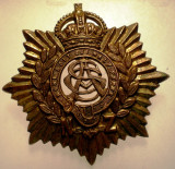 I.705 NEW ZEALAND NOUA ZEELANDA INSIGNA MILITARA ARMY SERVICE CORPS h43mm