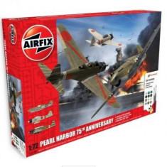 Kit Constructie Airfix Avion Pearl Harbor 75Th Anniversary Gift Set - Set de constructie